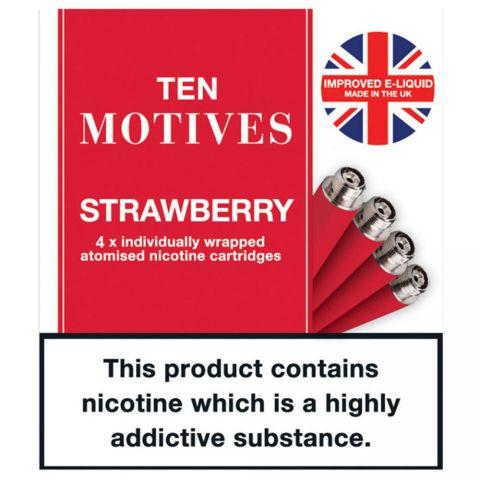 Ten Motives Strawberry 16mg