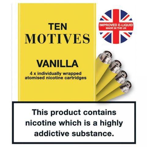 Ten Motives Vanilla 16mg