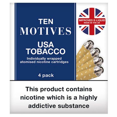 Ten Motives USA Tobacco