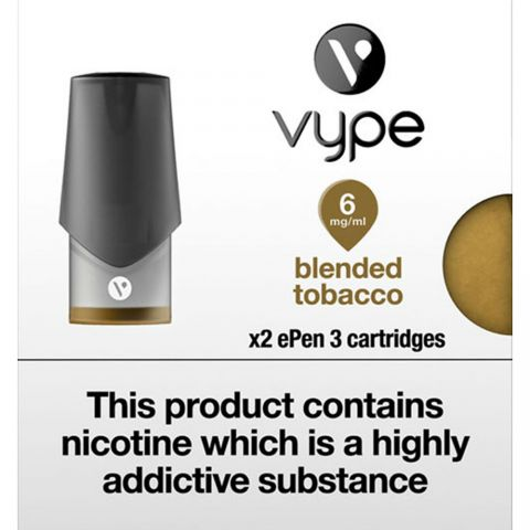 Vype Epen 3  Blended Tobacco Cartridges