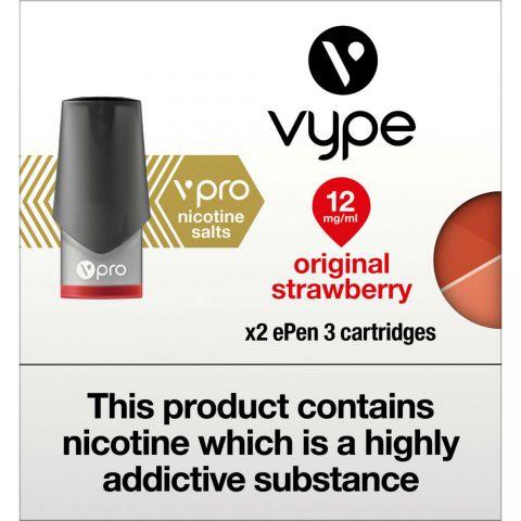 Vype Epen 3 Original Strawberry Cartridges